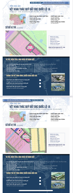 Sau sốt đất, Đà Nẵng bất ngờ công bố chi tiết 22 khu đất sạch kêu gọi đầu tư - Ảnh 6.