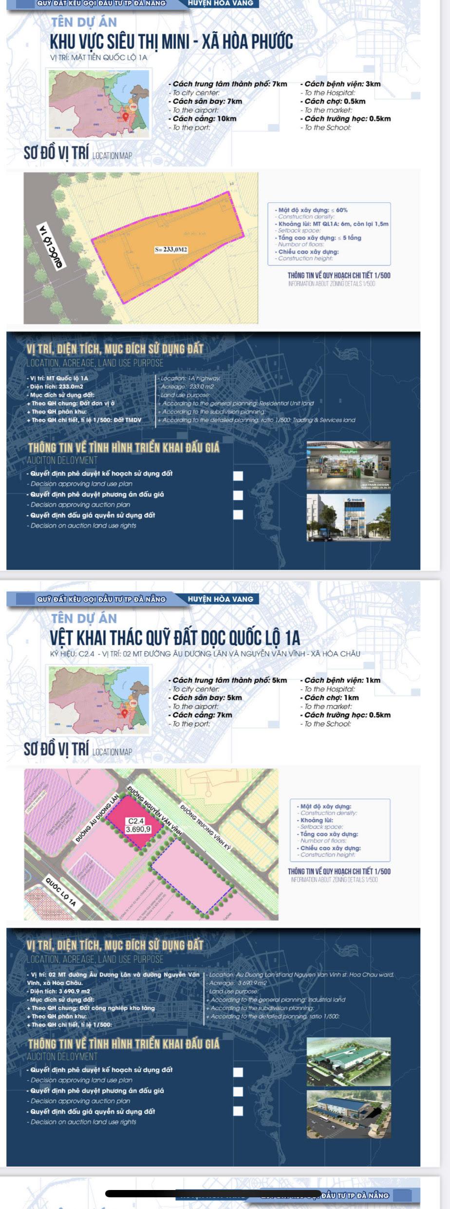 Sau sốt đất, Đà Nẵng bất ngờ công bố chi tiết 22 khu đất sạch kêu gọi đầu tư - Ảnh 8.