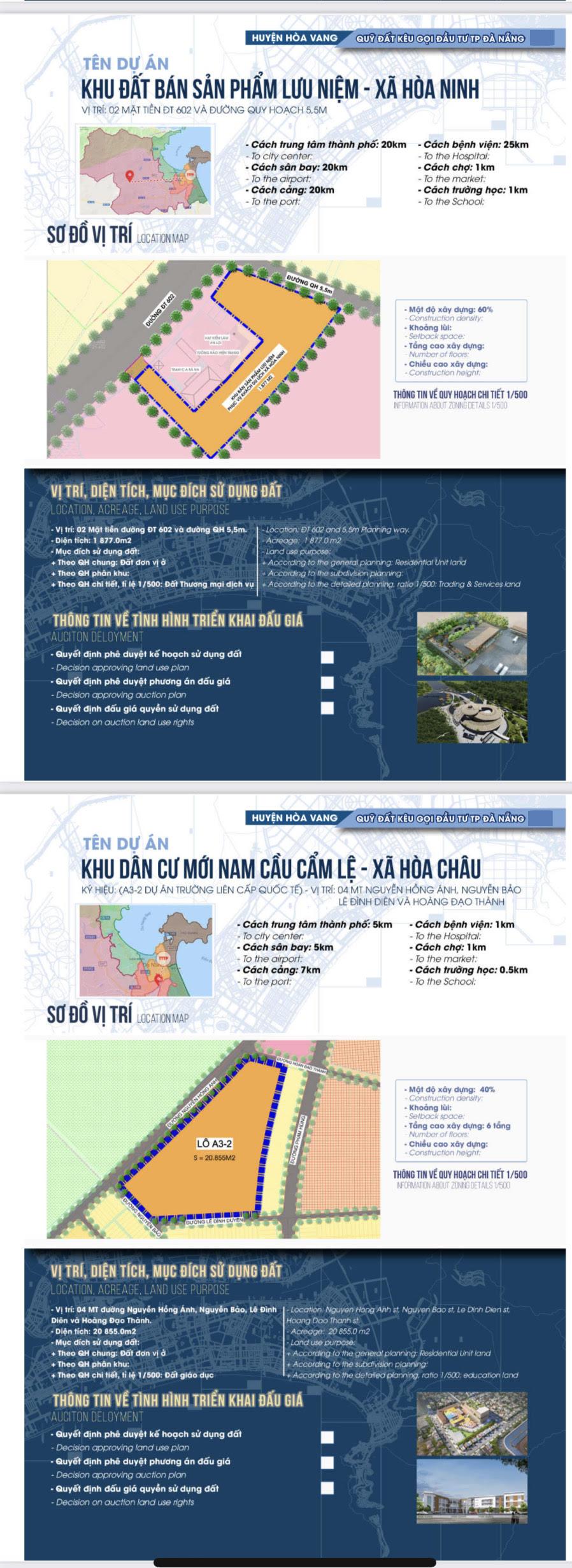 Sau sốt đất, Đà Nẵng bất ngờ công bố chi tiết 22 khu đất sạch kêu gọi đầu tư - Ảnh 9.