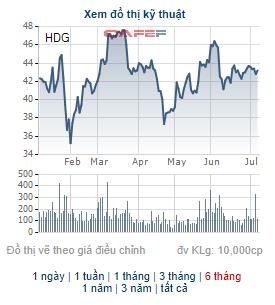 Chứng khoán Bản Việt (VCSC) mua thêm hơn 9 triệu cổ phiếu HDG, trở thành cổ đông lớn của Tập đoàn Hà Đô - Ảnh 1.