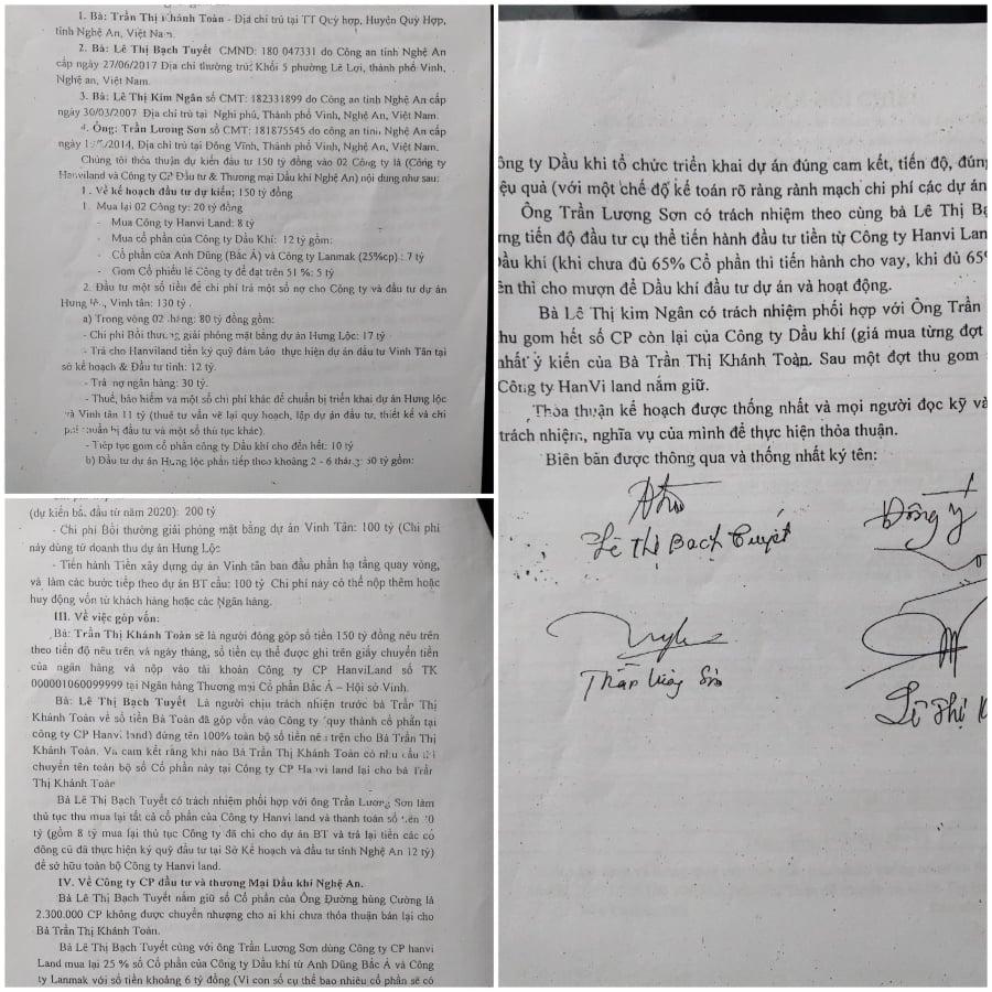 Lùm xùm tại dự án Hưng Lộc - Nghệ An: Bài 2: Thỏa thuận đầu tư bị biến thành cho vay tài chính