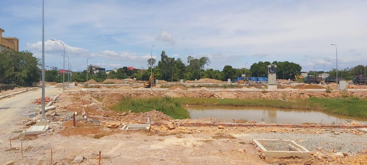 Dự án Hưng Lộc có dấu hiệu lấn chiếm đất.