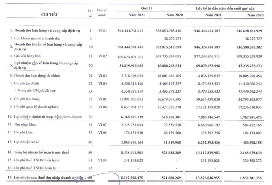 City Auto (CTF): Quý 2 lãi 8 tỷ đồng, cao gấp 16 lần cùng kỳ - Ảnh 1.