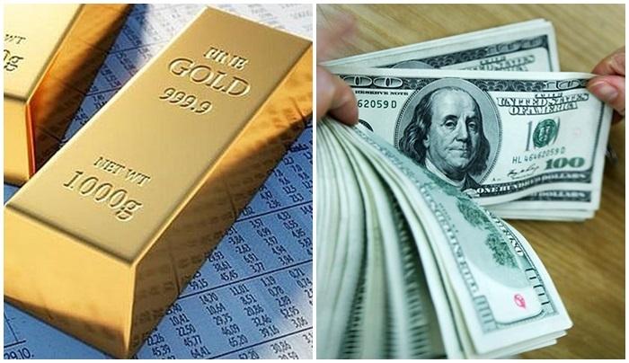Giá vàng giảm, giá USD thăng hoa trong tháng 7
