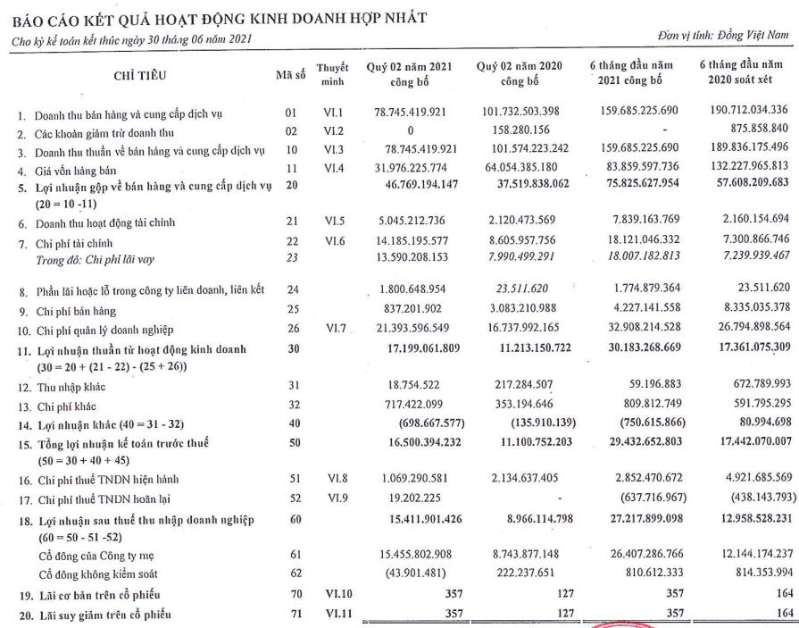 Lợi nhuận quý 2 của Saigontel (SGT) tăng 71% - Ảnh 1.