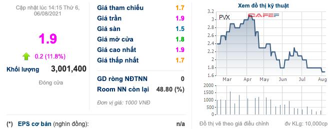 PVX: Cổ phiếu kịch trần dù báo lỗ lớn nửa đầu năm, nâng tổng lỗ luỹ kế lên hơn 4.000 tỷ đồng - Ảnh 3.