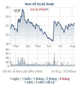 Vinaconex ICT (VCR) phát hành 30 triệu cổ phiếu chuyển đổi cho Vinaconex - Ảnh 1.