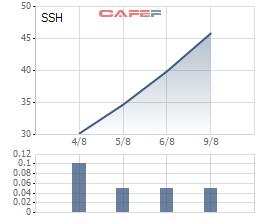 Thị giá tăng 144%, vốn hóa Sunshine Homes (SSH) gần chạm ngưỡng 600 triệu USD chỉ sau 5 phiên lên sàn - Ảnh 1.