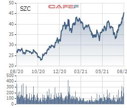 Sonadezi Châu Đức (SZC) dự chi 100 tỷ đồng trả cổ tức 2020, giá cổ phiếu tăng 45% so với đầu năm - Ảnh 2.