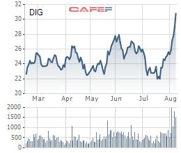 DIC Corp (DIG): Thị giá tăng mạnh, một cổ đông lớn bán ra hơn 5,5 triệu cổ phần - Ảnh 1.