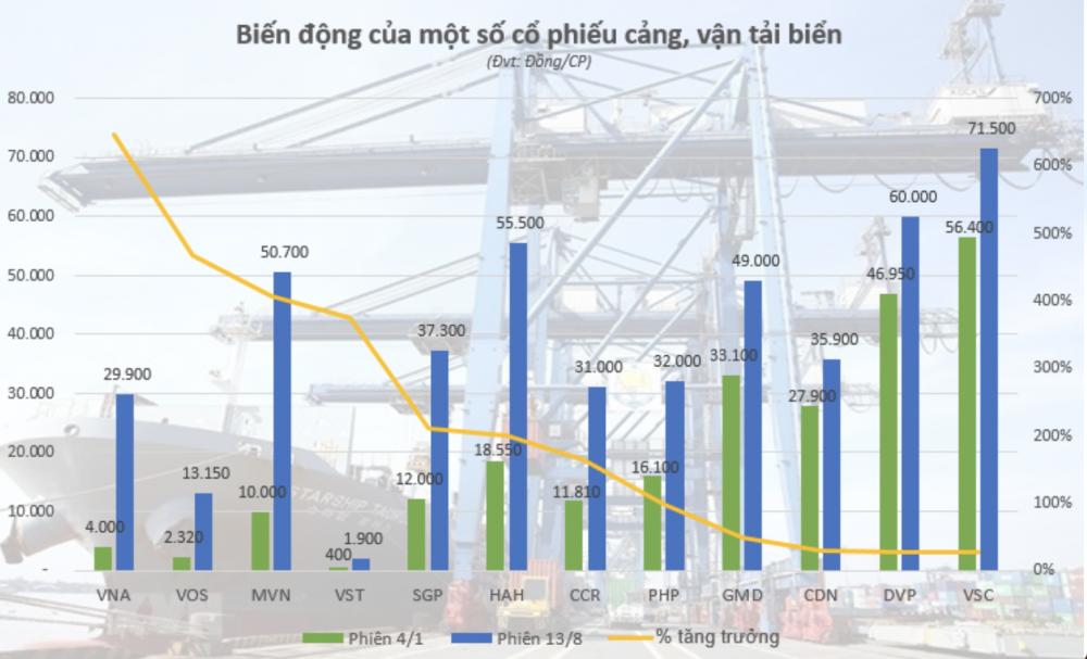 Cổ phiếu vận tải biển về đâu sau đà tăng nóng? - Ảnh 1.