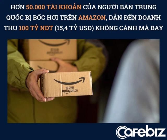 Trả tiền, tặng quà để mua đánh giá sản phẩm, 50.000 người bán hàng Trung Quốc nhận kết đắng: Phá sản, thất nghiệp sau 1 đêm vì bị Amazon đình chỉ tài khoản, doanh thu 15 tỷ USD không cánh mà bay - Ảnh 1.
