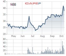 Năm Bảy Bảy (NBB): Thị giá tăng 64% từ đầu năm, sắp chia gần 22 triệu cổ phiếu quỹ cho cổ đông