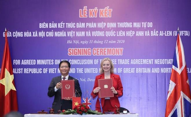 Việt Nam - Anh chính thức ký kết Hiệp định thương mại tự do - 1